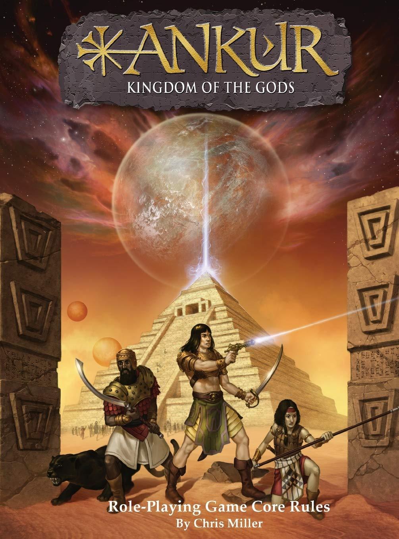 Ankur: Kingdom of the gods (Core Rules Book): Miller, Chris M, Prince, J L,  Juta, Jason: 9780692953754: Amazon.com: Books