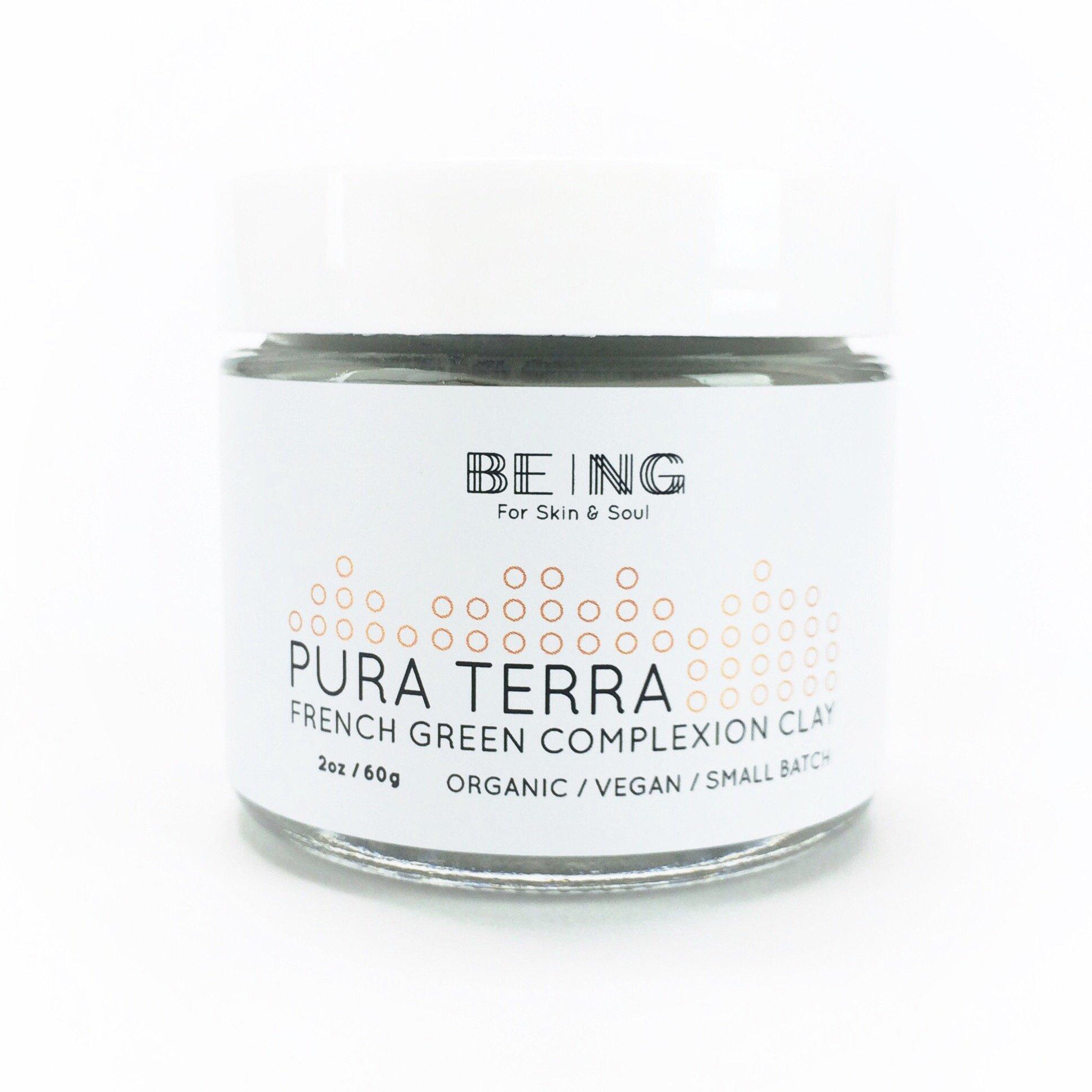 Purra Terra Exfoliate Clay Mask