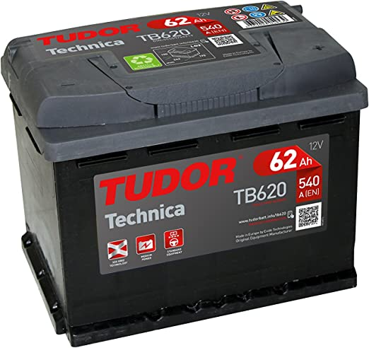 TUDOR TB620 Batería: Amazon.es: Coche y moto