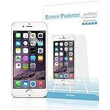 iPhone 6 Screen Protector, amFilm® Premium HD Clear Screen Protector for iPhone 6 4.7 inch 2014 ATT Verizon T-mobile (3-Pack) [Lifetime Warranty]