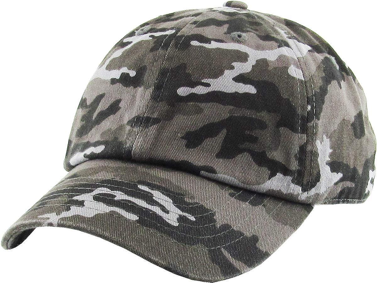 Funky Junque Kids Toddler Girl Boy Low Profile Washed Cotton Baseball Cap Hat