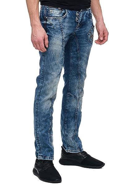 Online-Shop gut aussehend Schuhe für billige Rusty Neal Men's Jeans Blue Blue - Blue - 34/32: Amazon.co ...