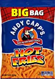 Andy Capp's Big Bag Fries, Hot, 8-Ounce (Pack of 8)