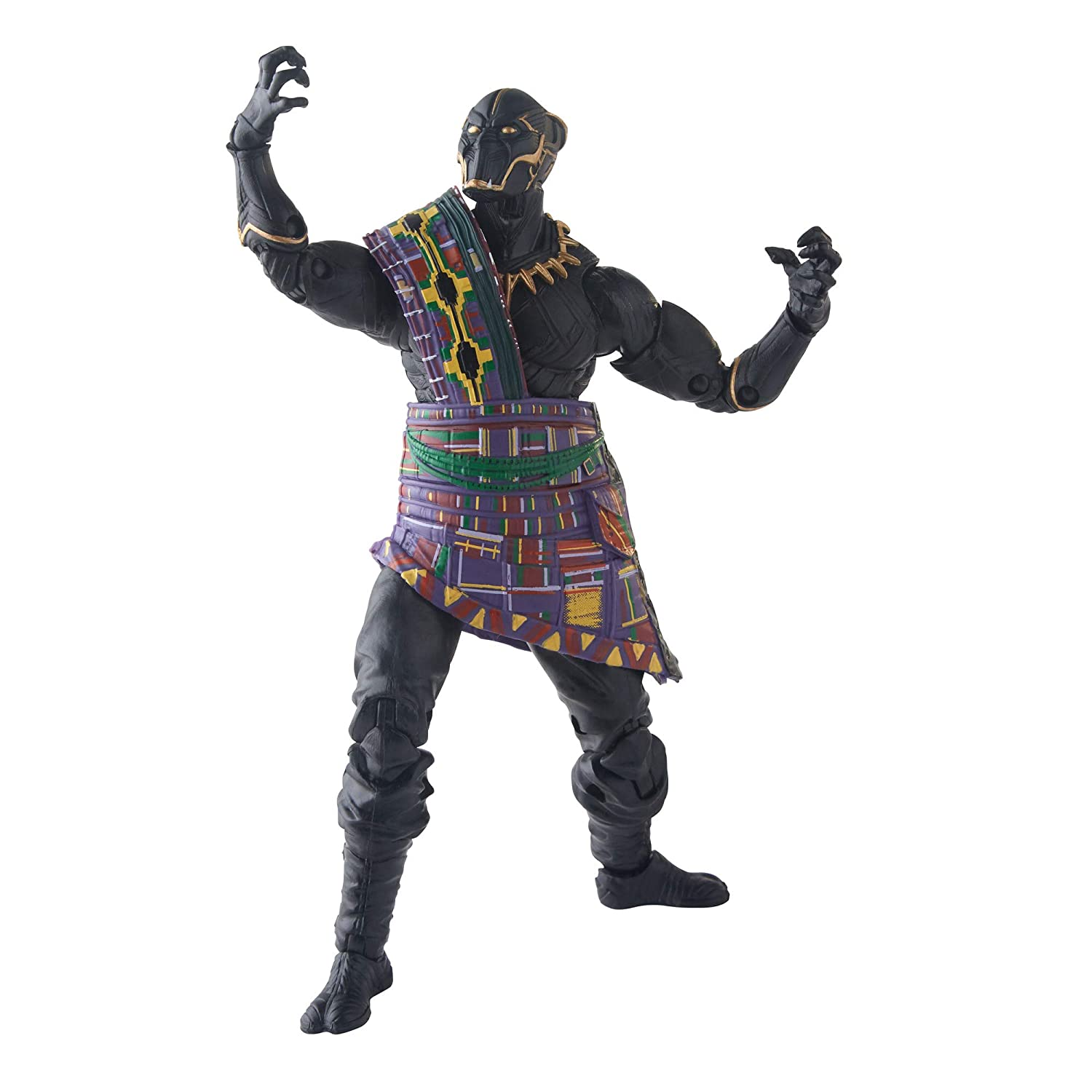 Marvel Legends Series Black Panther 6-inch T/'Chaka Figure Hasbro E5788AS00