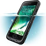 i-Blason Carcasa para iPhone 8 Plus, [Aegis] Carcasa Resistente al Agua con Protector de Pantalla Incorporado para Apple…