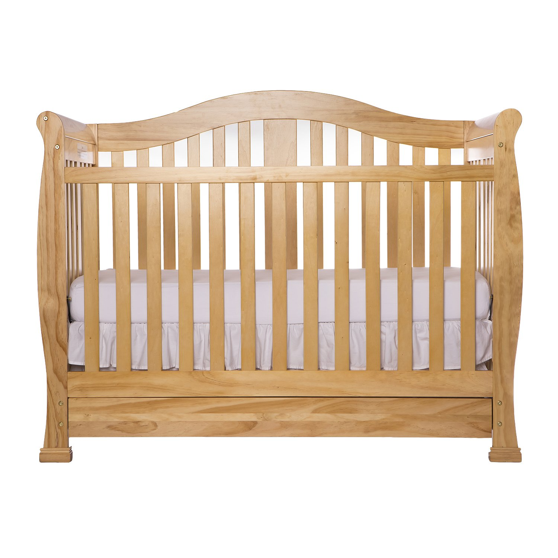 Amazon.com : Dream On Me Addison Crib, Natural : Convertible Cribs : Baby