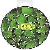Makin's USA Clay Cutters, Geometric, 22 Per Package