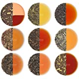 VAHDAM, Assorted Loose Leaf Tea Sampler - 10 TEAS, 50 Servings - Black Tea, Green Tea, Oolong Tea, Chai Tea, White Tea | Tea Variety Pack | Hot, Iced, Kombucha Tea