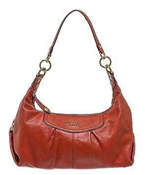 d4800e5f27 Coach Orange Leather Hobo Handbag  Amazon.co.uk  Luggage