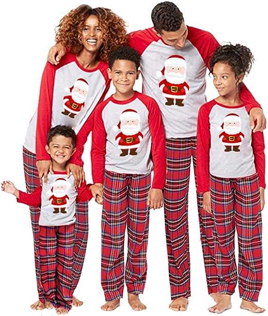 Amazon.com: Wlhwllw 2 piezas familia a juego Navidad Santa ...
