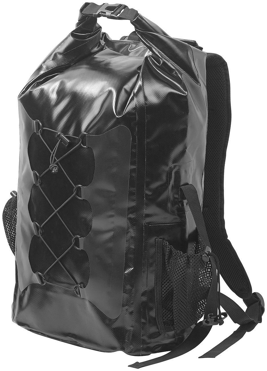 coloris noir Sac /à dos trekking /étanche en toile de b/âche 30 L
