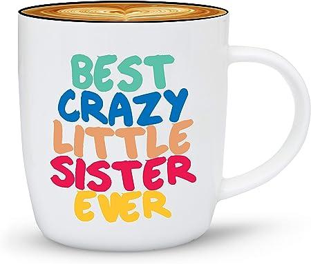 Gifffted Tasse Petite Soeur, Mug Original Idée Cadeau pour
