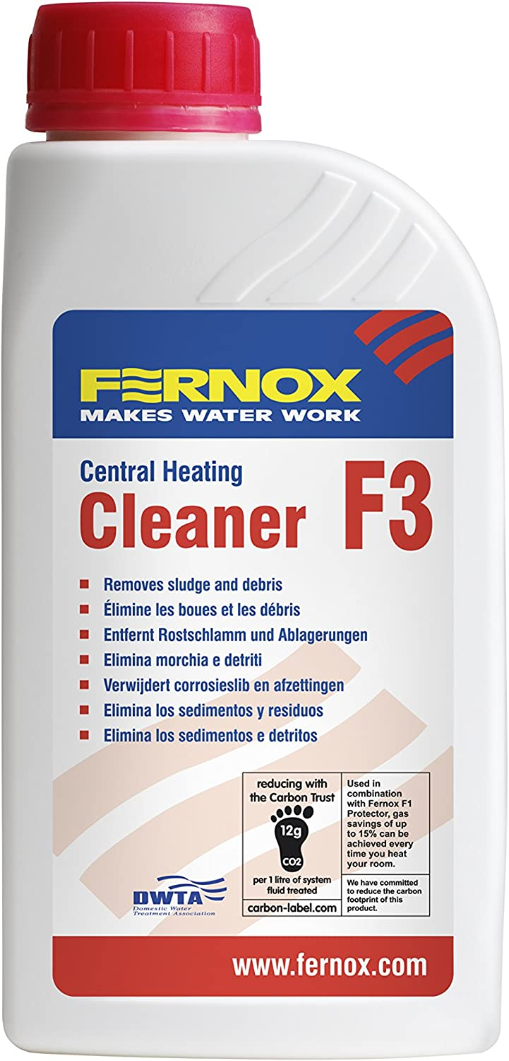 FERNOX F3 CENTRAL HEATING CLEANER by Fernox