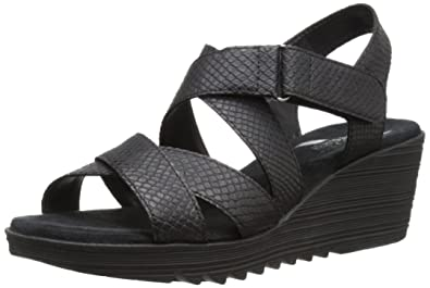 4e75442527a Aerosoles Women s Bogota Synthetic Wedge Sandal