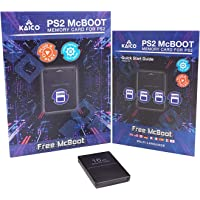 Kaico Free Mcboot 16MB PS2 Memory Card Running FMCB PS2 Mcboot 1.966 for Sony Playstation 2 - FMCB Free Mcboot Your PS2…