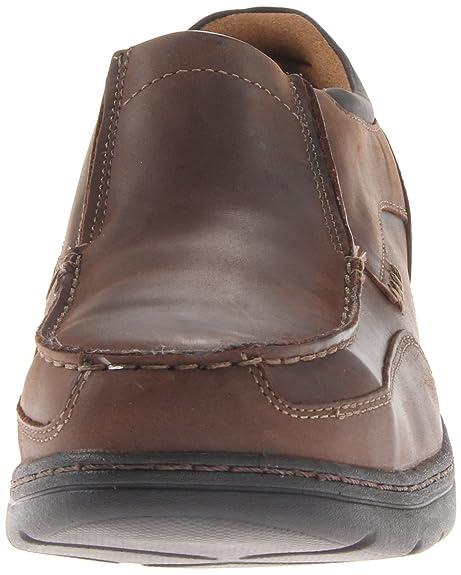 Zapato industrial y de construcci¨®n Stockdale Oxford con punta de aleaci¨®n para hombre, cuero marr¨®n de grano entero, 15 M US