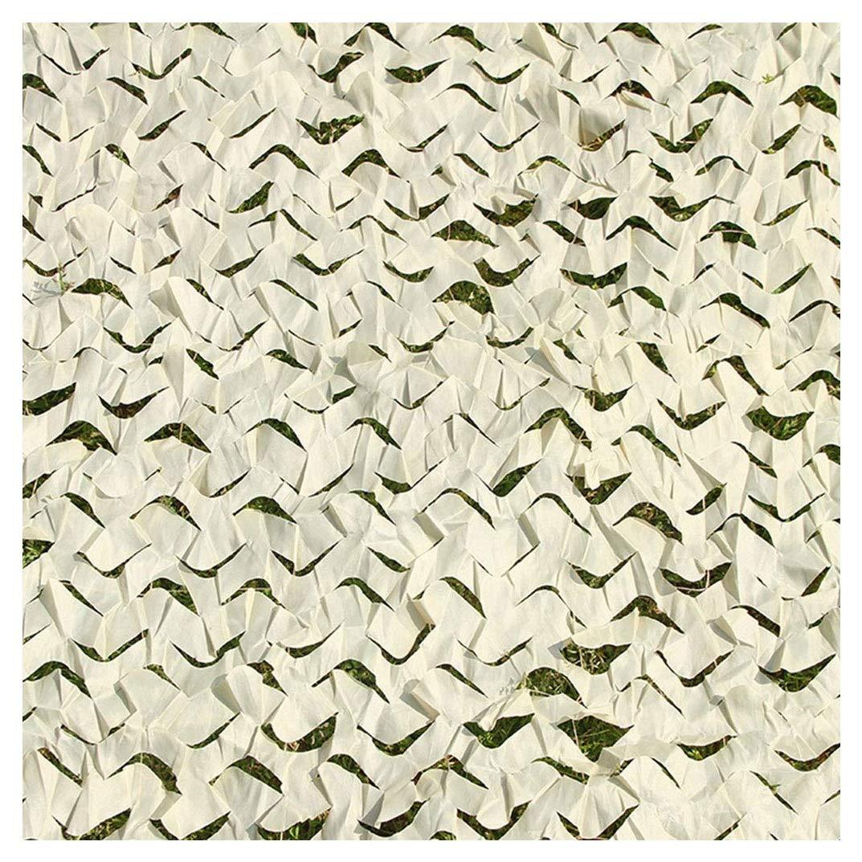 810M Filet de Prougeection Solaire pour Jardin, Militaire Filet de Camouflage 4x4m Filet D'ombrage Beige 3x5m Auvents Renforcer Filet de Camouflage 3x3m pour Tentes Résistantes au Feu Aux Flammes 8m 10m