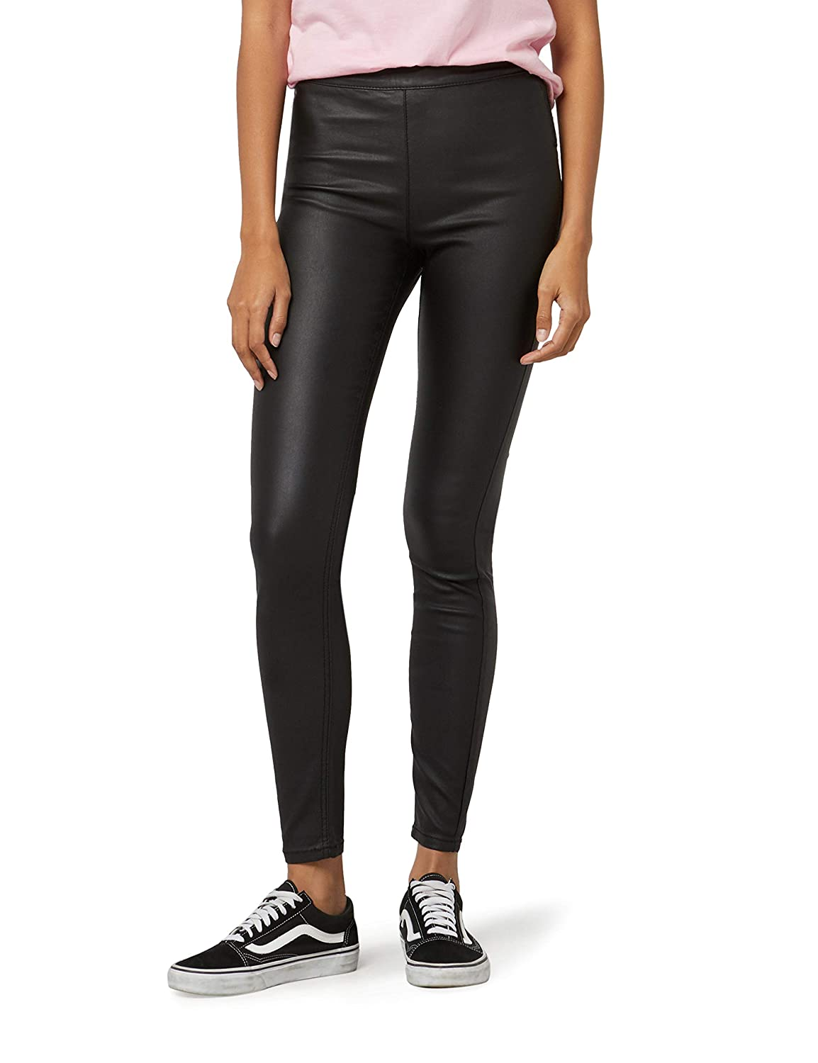 FIND Pu Coated Pantalones Mujer
