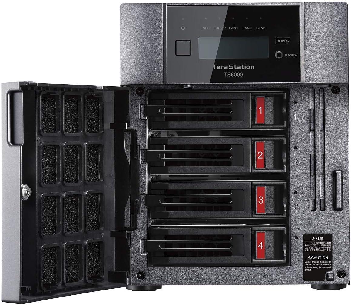 Buffalo TeraStation TS6400RN 32TB 4-Bay Rackmount NAS Festplatten inklusive Snapshots