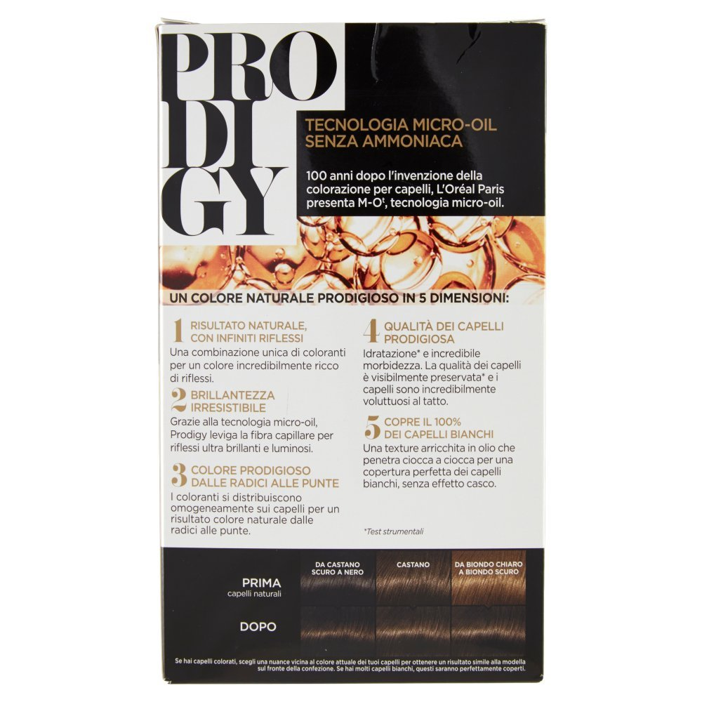 Amazon.com : Prodigy Permanent Color Without Ammonia 3.0 Kohl Dark Brown by Prodigy : Beauty