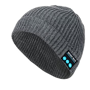 0baf6f9705f Onedayshop Wireless Bluetooth Hat Music Magic Hat Winter Beanie Hat with  Stereo Headphones Microphone Speaker Hands