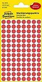 Avery Zweckform 32-301 Markierungspunkte (560 Klebepunkte, Durchmesser 8 mm) 8 Blatt