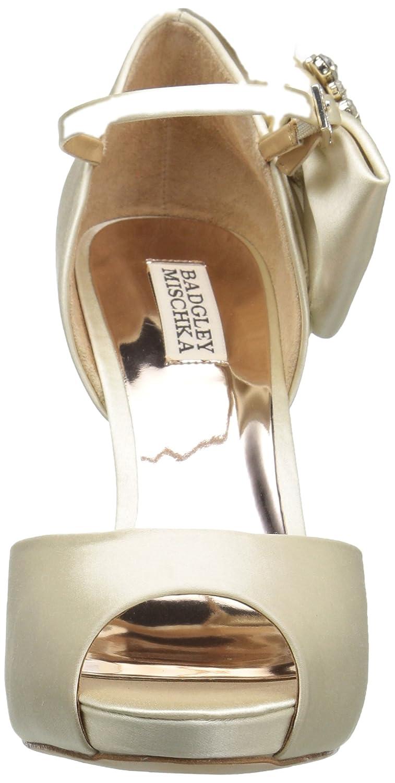 Badgley Mischka Womens Samra Heeled Sandal