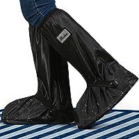 JUSPRO Waterdichte overschoenen voor regenlaarzen, galoschen met ritssluiting en reflector, voor outdoorsport, wandelen…