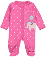 Carter's Baby Girls' Cotton Snap-Up Sleep & Play