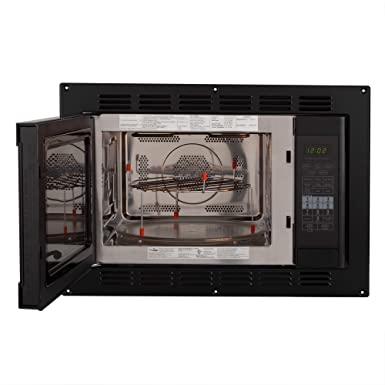 Amazon.com: RecPro RV Convection Microondas Negro 1.1 Cu ...