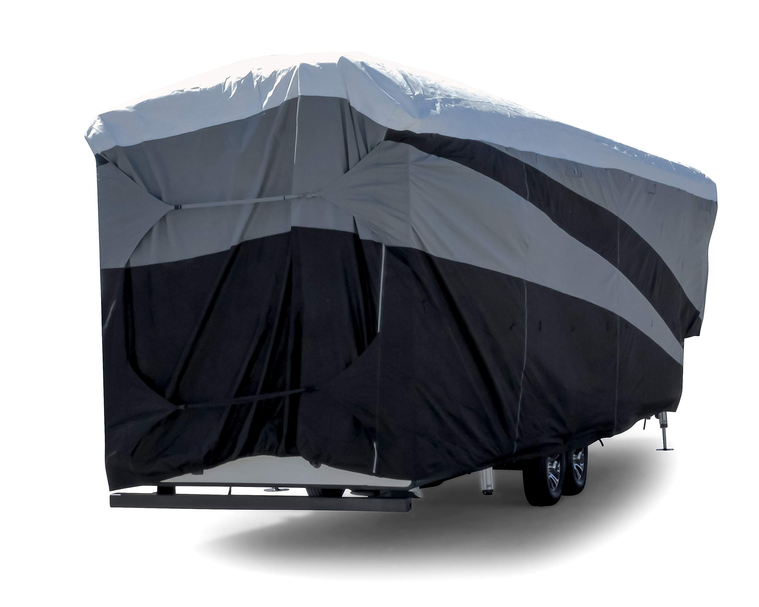 Camco ULTRAGuard Supreme RV Cover-Extremely Durable Design Fits Fifth Wheel Trailers 34' -37', Weatherproof with UV Protection and Dupont Tyvek Top (56150) by Camco (Image #2)