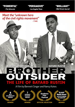 cover art for Brother Outsider: The Life of Bayard Rustin
