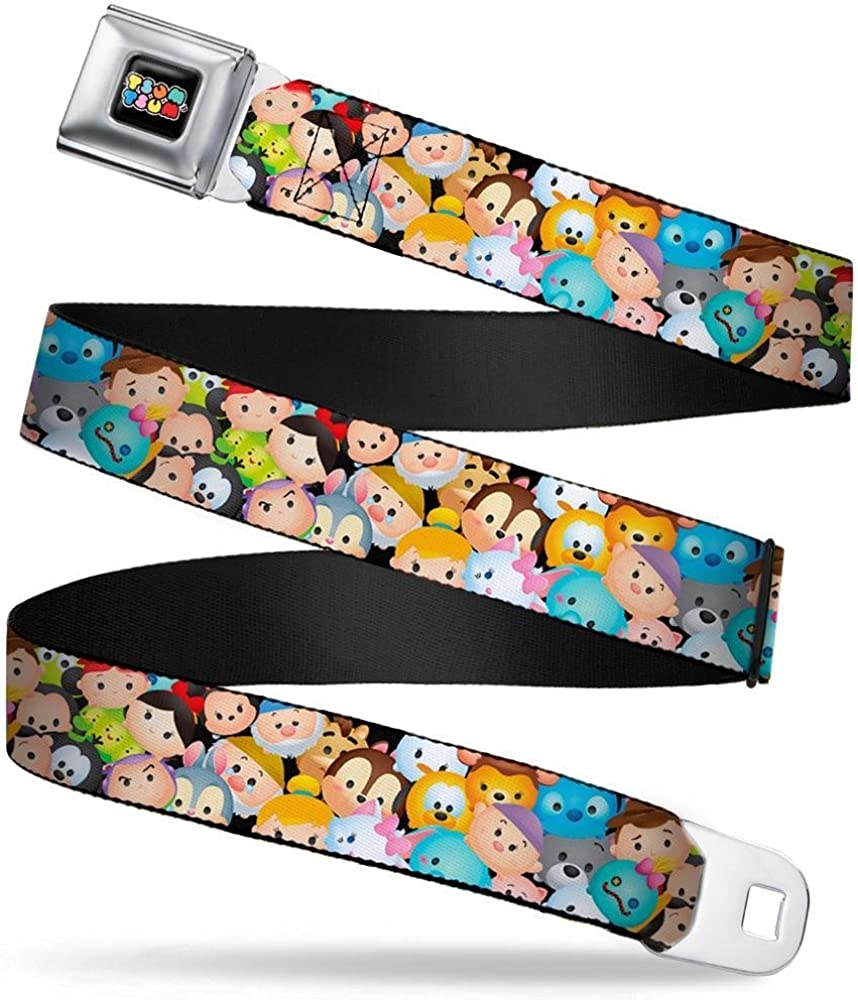 Buckle-Down Mens Seatbelt Belt Tsum Wdy316