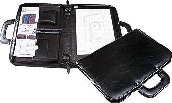 6fc98c497 Pasta Maleta Executiva em Couro Sintético para Notebook com Alça - INCORPAST  1671