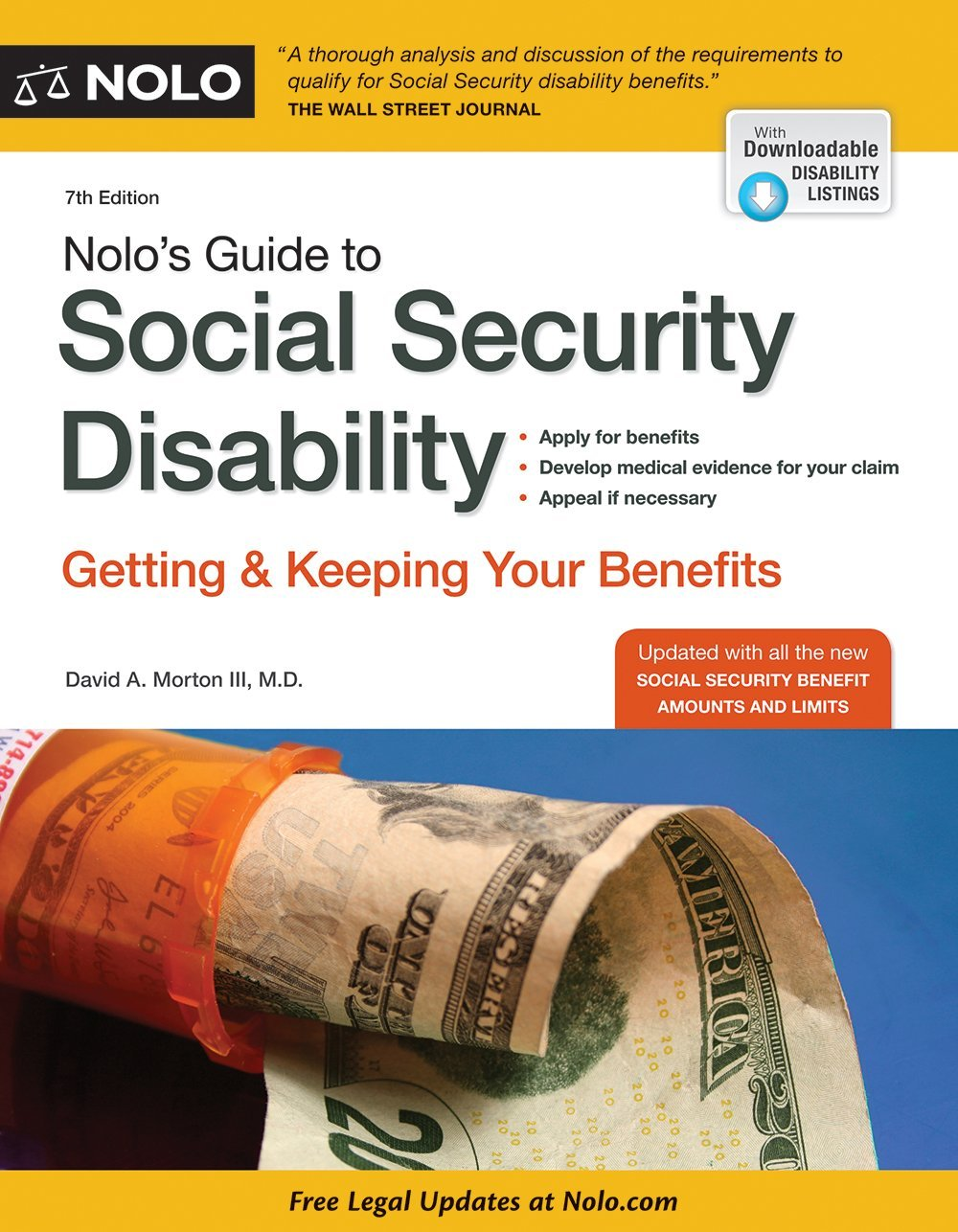 Read Online Nolo's Guide to Social Security Disability: Getting & Keeping Your Benefits ebook