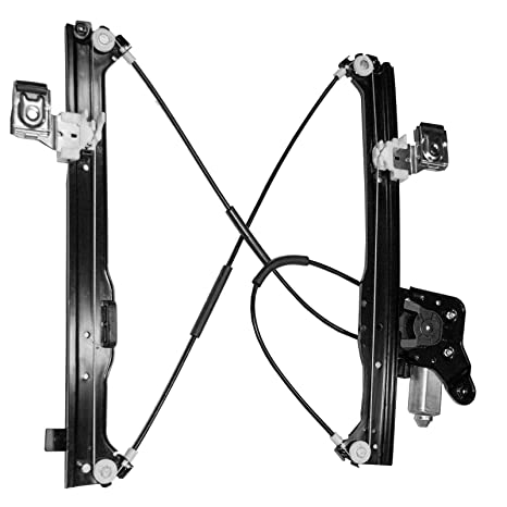 Power Window Regulator fits 2001-2006 GMC Yukon XL Rear Left Right with Motor