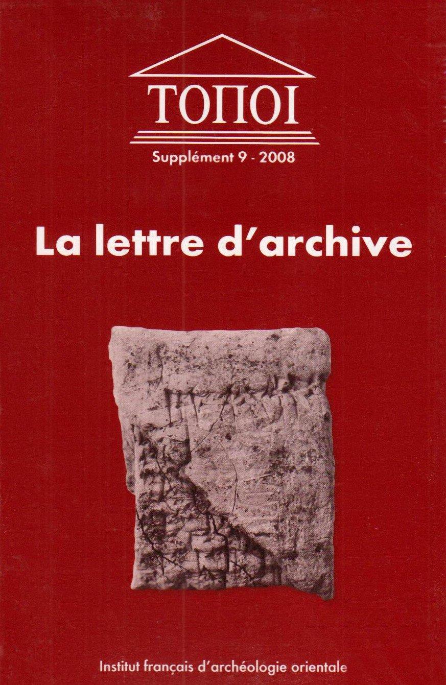 Lettre D Archive Communication Administrative Et