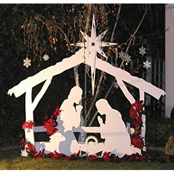 life size outdoor christmas nativity set by mynativity 3 sizes available