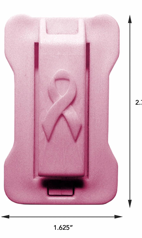 Pack of 4 Masterlink Marketing 296-nbcf Black//Pink Seatbelt Adjuster,