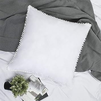 Amazon.com: YINFUNG - Juego de 2 fundas de almohada con ...