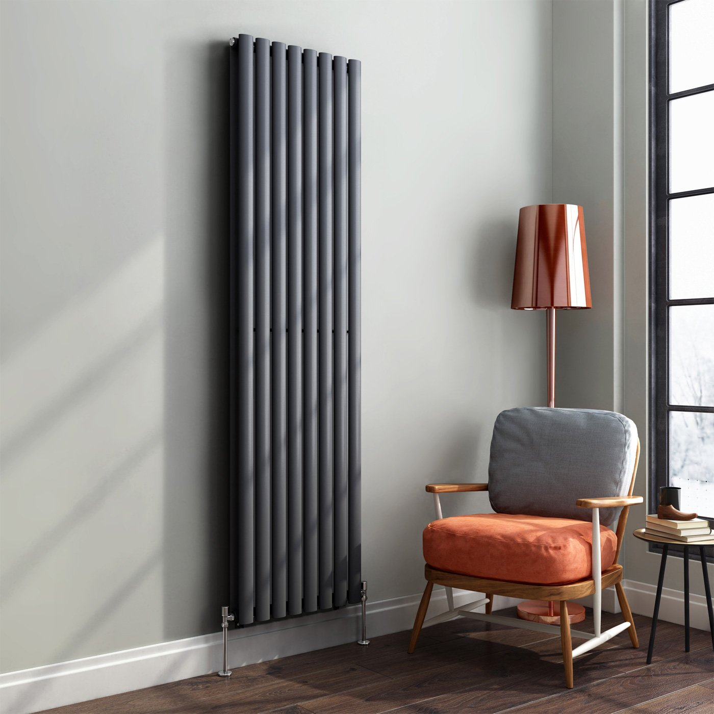 Tall Wall Radiators Design Decoration