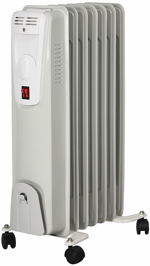 Radiador eléctrico El Fuego® portátil de aceite/eléctrico