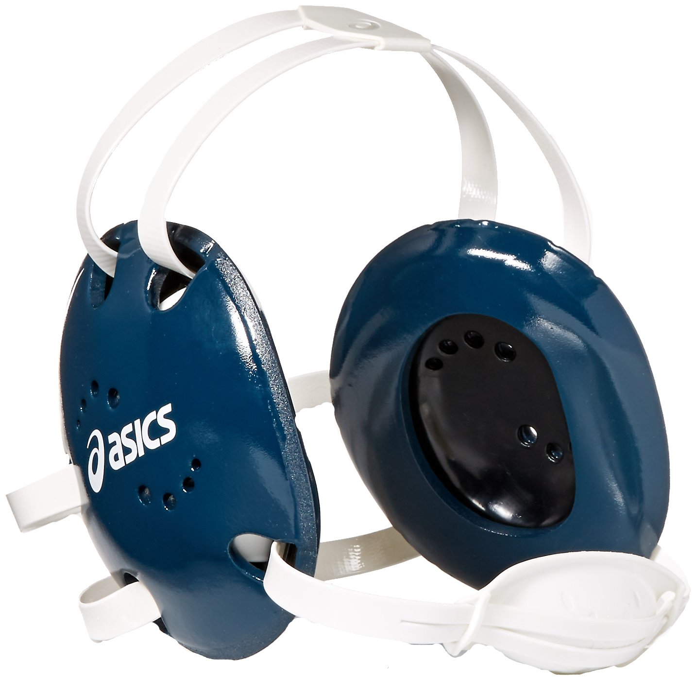 ASICS Snap Down Earguard, Navy, One Size ASICS Sports Apparel ZW3072