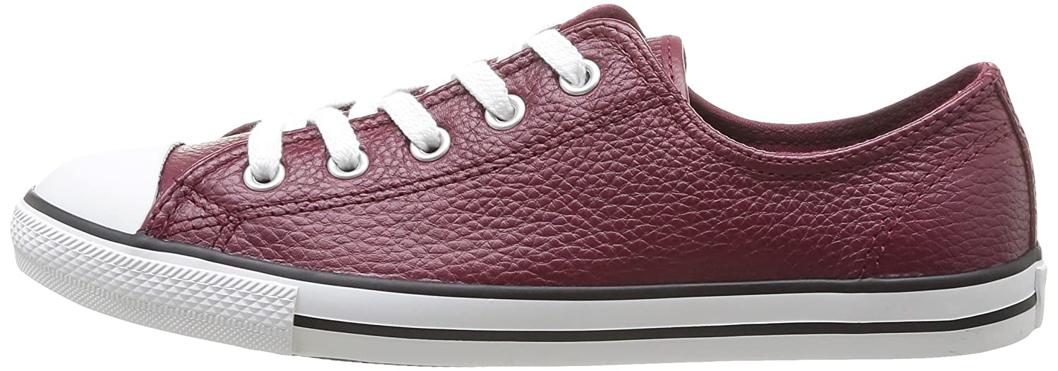 3ff1b66d7a4c Converse Womens As Dainty Femme Leather OX Trainers  Amazon.co.uk  Shoes    Bags