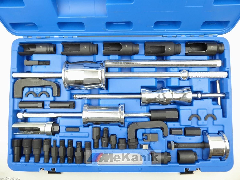 40pc Diesel Injector Puller Remover MASTER Tool Kit BOSCH DENSO SIEMENS DELPHI Mekanik