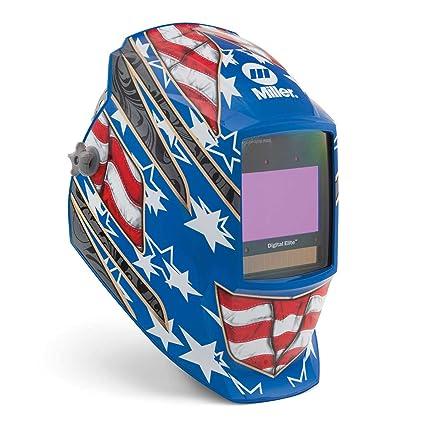 Miller 281002 Digital Elite Stars and Stripes III Welding Helmet with - -  Amazon.com 2d9f459a2f4