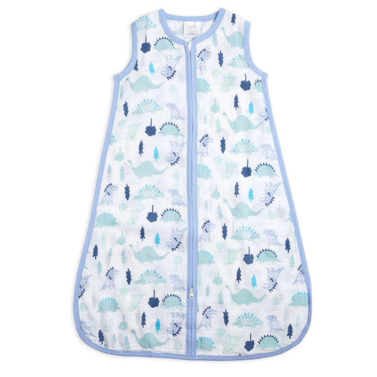 aden + anais Classic Sleeping Bag, 100% Cotton Muslin, Wearable Baby Blanket, Dinos, Extra Large, 18+ Months