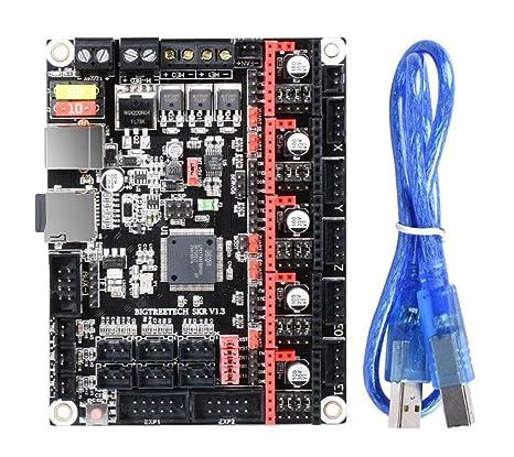 Zhanyiyi La Placa del módulo Junta de Control de SKR V1.3 32 bits ...