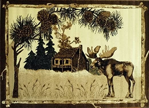 Cabin Area Rug 380 Lodge 3 Ft. 10 in. X 5 Ft. 1 in.