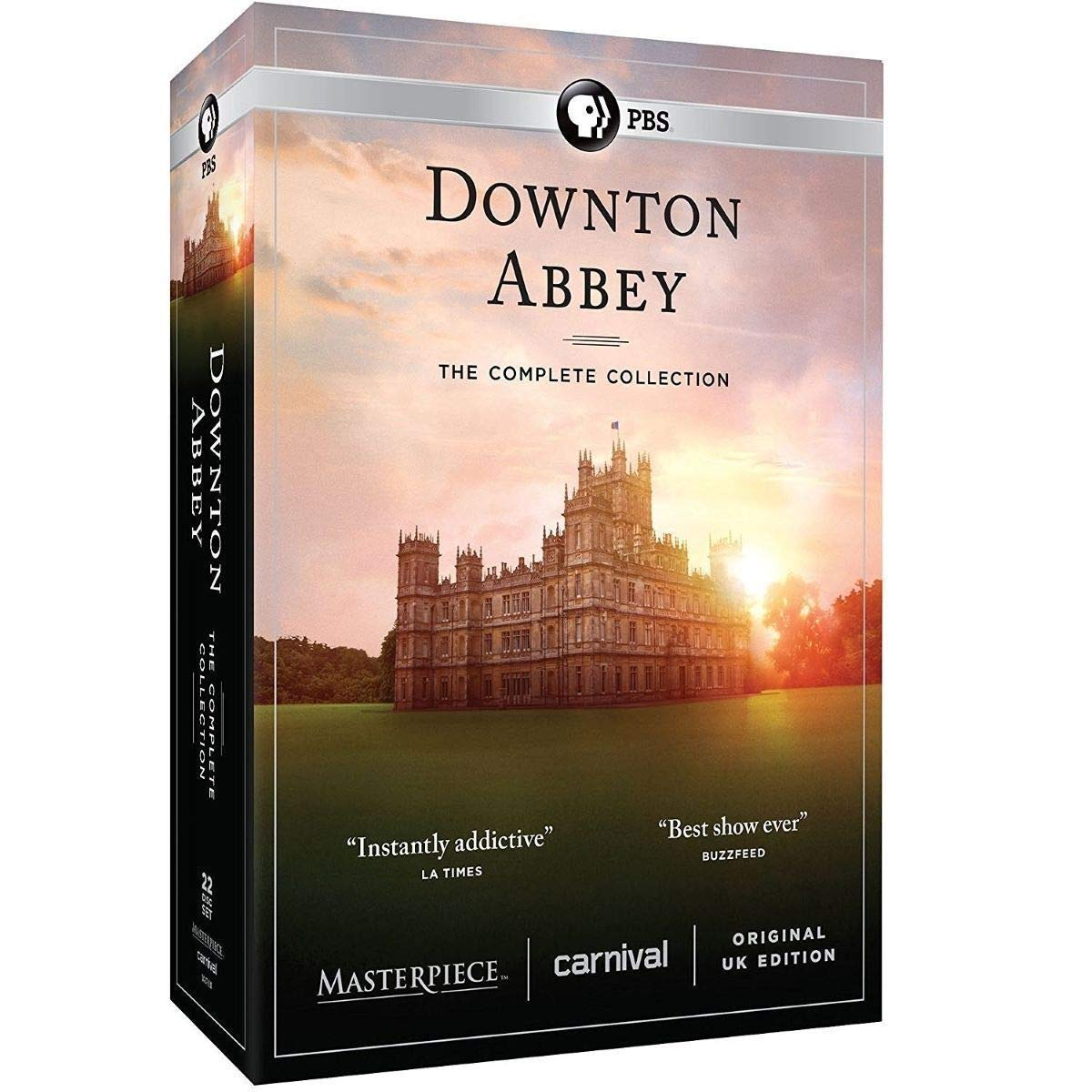 New, Downton Abbey: The Complete Series, Seasons 1-6 (DVD, 22-Disc Set) Fast and Free! by New ddc